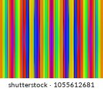 colours parallel vertical lines ... | Shutterstock . vector #1055612681