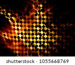 colorfully abstract background. ... | Shutterstock . vector #1055668769