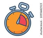 sport chronometer icon | Shutterstock .eps vector #1055682515