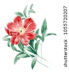 Stock photo flowers carry the scent of spring the leaves and flowers art design 1055720207