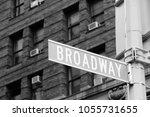 new york city  united states  ... | Shutterstock . vector #1055731655