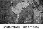 halftone grunge texture of an... | Shutterstock .eps vector #1055746859