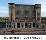 michigan central railway station   Shutterstock . vector #1055756234