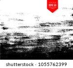 vector black and white hand... | Shutterstock .eps vector #1055762399