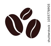 coffee beans icon | Shutterstock .eps vector #1055778905