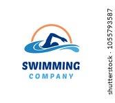 Simple Swimming Logo Design...