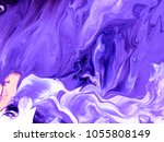 ultra violet abstract hand... | Shutterstock . vector #1055808149