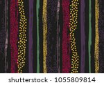 vector seamless pattern with... | Shutterstock .eps vector #1055809814
