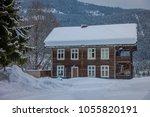 beautiful outdoor view of... | Shutterstock . vector #1055820191