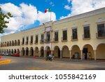 mexico  yucatan   17 february ...   Shutterstock . vector #1055842169