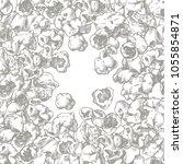 vector set sketch snack food... | Shutterstock .eps vector #1055854871