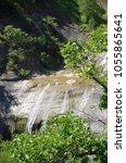 Small photo of Waterfall of small affluent of Haliakmona, Stenopotamos in Kastoria, Greece