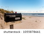 kindred spirit mailbox side... | Shutterstock . vector #1055878661