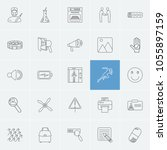 pack icons set with pill ...