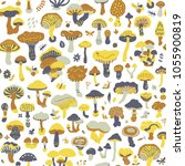 vector seamless pattern with... | Shutterstock .eps vector #1055900819