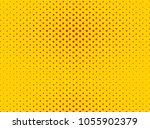 circular halftone dots. pop  ... | Shutterstock .eps vector #1055902379