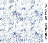 baby doodle vector pattern... | Shutterstock .eps vector #1055904761