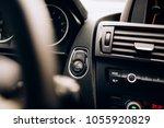 car ignition detail   hybrid... | Shutterstock . vector #1055920829