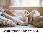 health issues problems concept... | Shutterstock . vector #1055941631