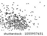 background with grain of rice....   Shutterstock .eps vector #1055957651