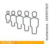 business management  strategy...   Shutterstock .eps vector #1055957819