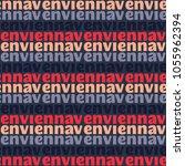 vienna seamless pattern.... | Shutterstock . vector #1055962394