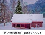 amazing outdoor view of... | Shutterstock . vector #1055977775