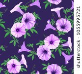 tropical seamless pattern with... | Shutterstock .eps vector #1055995721