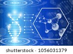 abstract background technology... | Shutterstock .eps vector #1056031379