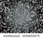 Seamless Floral Rich Wallpaper