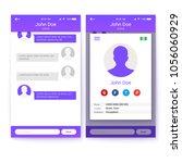ui concept of mobile app  gui...