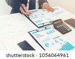 business partner marketing... | Shutterstock . vector #1056064961