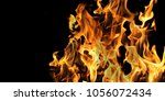 isolated campfire stock photo  | Shutterstock . vector #1056072434