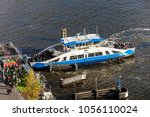amsterdam  netherlands   april  ... | Shutterstock . vector #1056110024