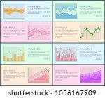 analytics and statistics ...   Shutterstock .eps vector #1056167909