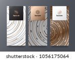 vector set packaging templates... | Shutterstock .eps vector #1056175064