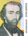 Small photo of Adolphe Sax portrait from Belgian money