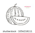 vector image. picture of the... | Shutterstock .eps vector #1056218111
