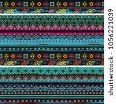 ethnicity seamless pattern.... | Shutterstock . vector #1056221039
