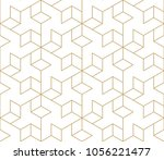 abstract geometric pattern with ... | Shutterstock .eps vector #1056221477
