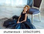Cute Little Girl In A Princess...