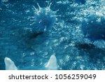 3d illustration pathogenic... | Shutterstock . vector #1056259049