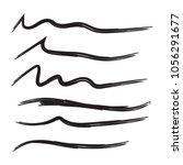 vector set of hand drawn...   Shutterstock .eps vector #1056291677