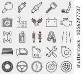 car icon set  black icon car ...   Shutterstock .eps vector #1056297737