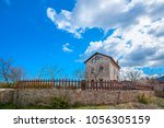 very old traditional house in... | Shutterstock . vector #1056305159