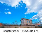 very old traditional house in... | Shutterstock . vector #1056305171