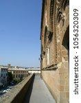 Small photo of Orvieto, Italy - August 9 2009: Palazzo del Popolo, partial view