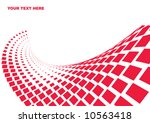 illustrated wave dotted design | Shutterstock .eps vector #10563418