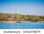 view of islands in aegean sea...   Shutterstock . vector #1056378875