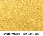 gold glitter texture sparkling... | Shutterstock . vector #1056393101